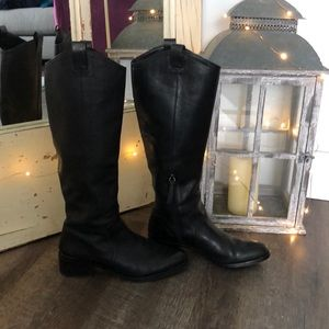 Louise et Cie Knee High Boots, Leather